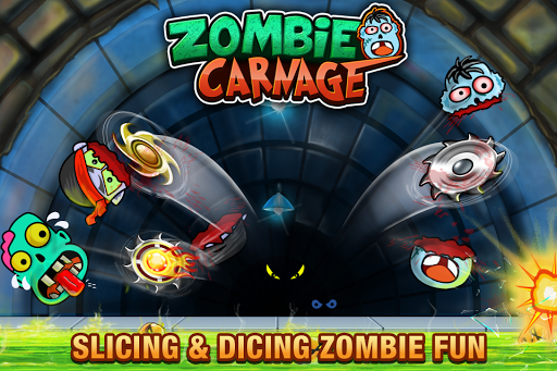Zombie Carnage - Slice and Smash Zombies apkpoly screenshots 5