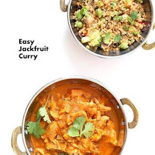 Easy Jackfruit Curry.