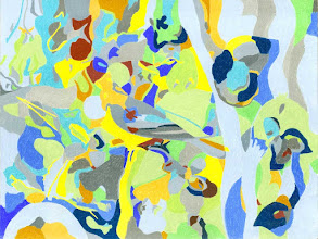 """Photo: Тадеуш Жаховский """"Смуз Джаз. Smooth Jazz"""" Title: Smooth Jazz / Смуз Джаз Artist:Tadeush Zhakhovskyy / Тадеуш Жаховский Medium: Painting. mixed techique on cardboard, смешанная техника, дизайнерский картон. 46 cm x 61 cm x / 18 in x 24 in. О наличии картины просьба контактировать галерею.Также предлагается напечатанная на холсте репродукция этой картины в любом размере."""