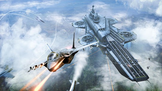 Sky Combat: war planes online simulator PVP Mod Apk Download For Android and Iphone 7