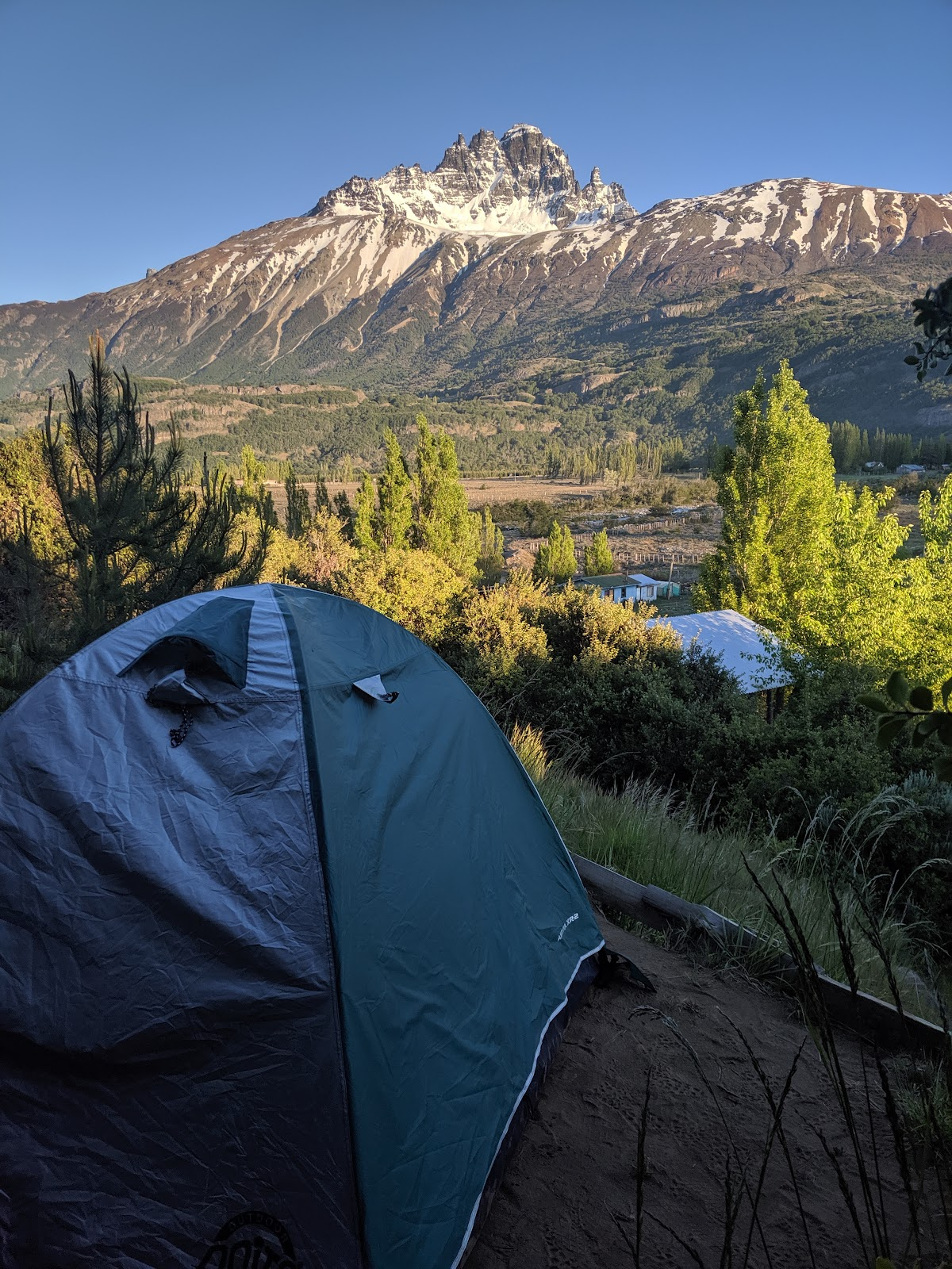 10 day road trip on the Carretera Austral - Camping Senderos Patagonia
