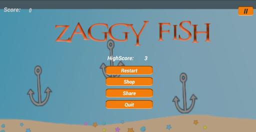Télécharger Zaggy Fish apk mod screenshots 3