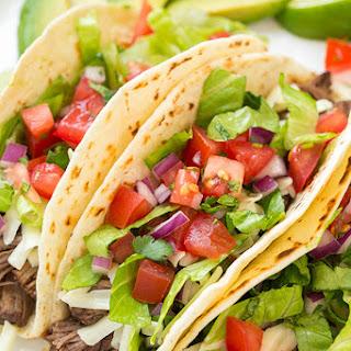 Slow Cooker Barbacoa Beef Tacos (Chipotle Copycat)