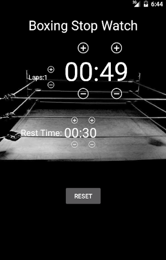 Boxing Stopwatch