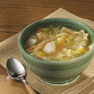 Amish Chicken Corn Soup.