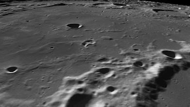 Photo: Detail in Poincaré crater.