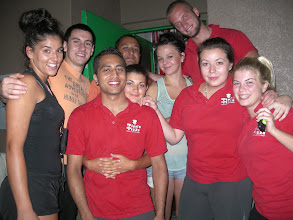 Photo: Binod last day this summer!--We miss you!