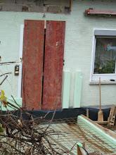 Photo: Wir sind eingesperrt...... Spritzschutz für die Haustür