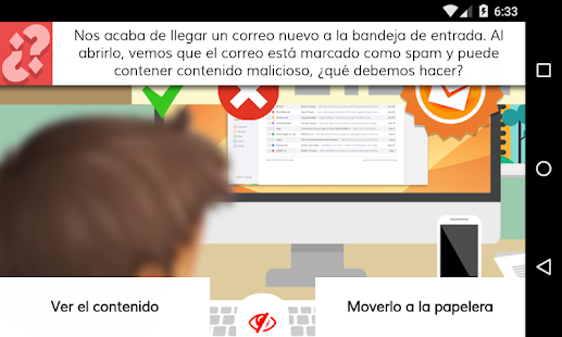 Aprende seguridad en la red- screenshot thumbnail
