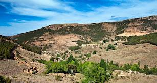 Antiguo poblado minero, Las Menas.