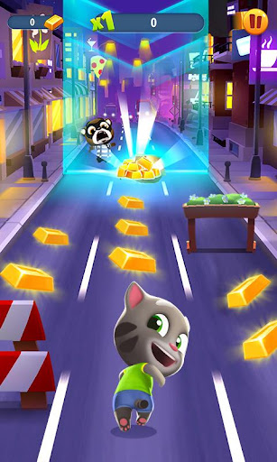 Talking Tom Gold Run screenshot 1