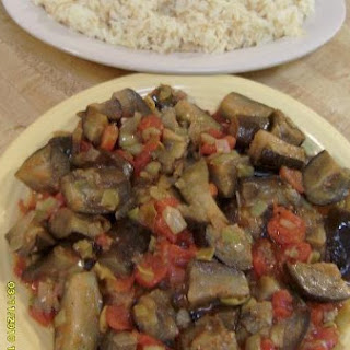Eggplant Stew - YEKHNAT AL-BATINJAN