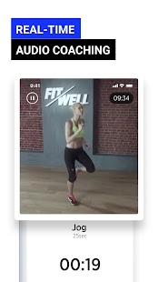 Fitwell - 30 Day Fitness Workout Diet Step Counter Screenshot