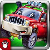Puzzles for children! Car games for boys! Baby app