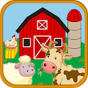 Learn Farm Animals Games - Animal Sounds For Kids icon