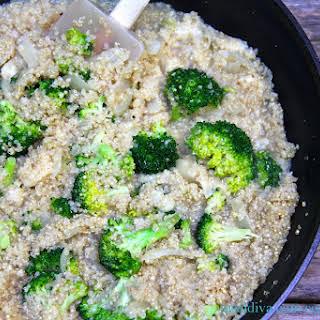 Quinoa Risotto with Broccoli.