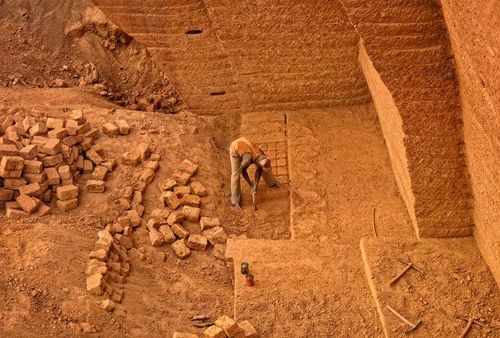 Laterita, os tijolos de Burkina Faso