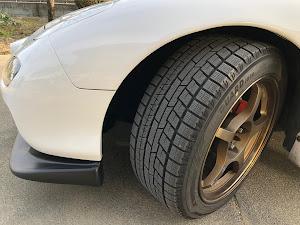 RX-7 FD3S 後期 H14年式 タイプRバサーストのタイヤのカスタム事例画像 KMRさんの2019年01月16日15:56の投稿
