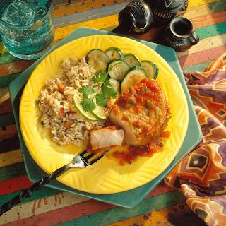 Easy Mexicali Pork Chops.