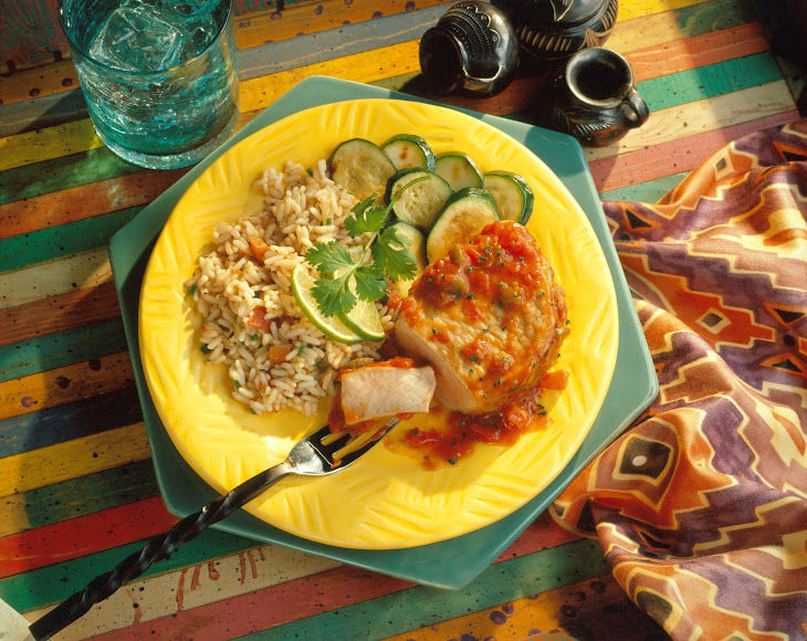 Easy Mexicali Pork Chops Recipe