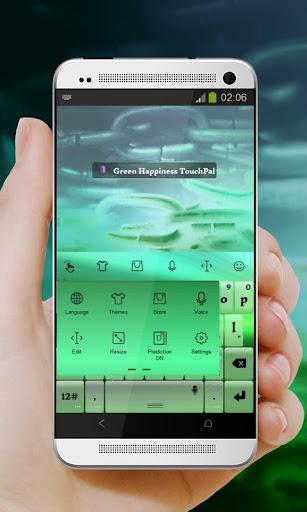 玩免費個人化APP|下載グリーン幸福 TouchPal app不用錢|硬是要APP