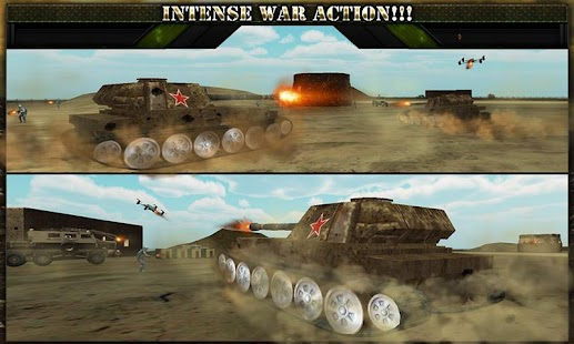 War Tank Battle Zone 3D screenshot