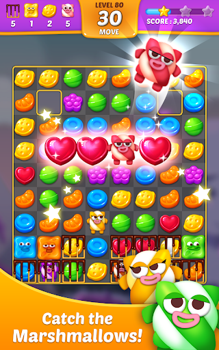 Lollipop: Sweet Taste Match 3 apkpoly screenshots 1