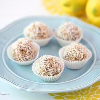 Lemon Coconut Energy Balls.