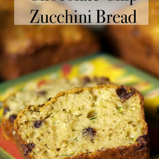 Chocolate Chip Zucchini Bread.