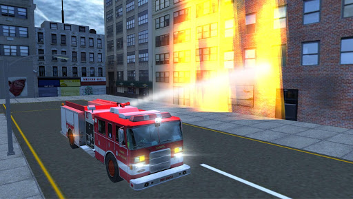 Real Fire Truck Driving Simulator: Fire Fighting apkmr screenshots 3