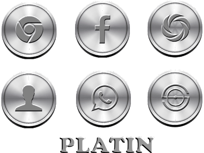 Platin - Icon Pack Screenshot