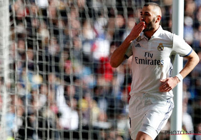 Liga : avec un Benzema en forme, le Real Madrid se reprend en giflant Eibar