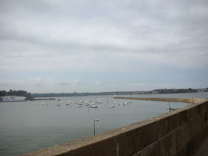 Photo: View from the walls of Saint Malo