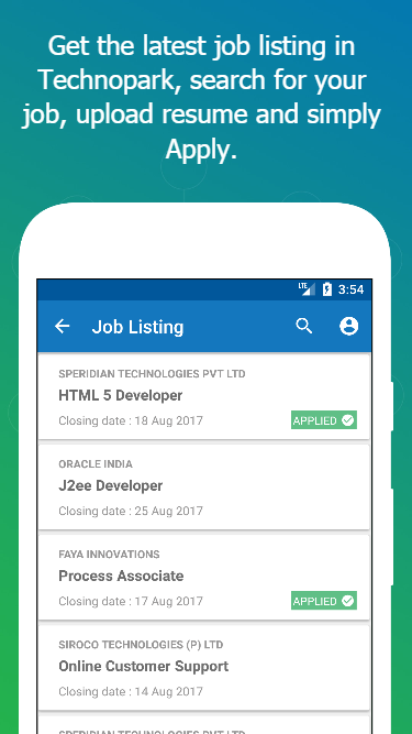 My TechnoPark – Jobs, News, Accommodation and more- screenshot