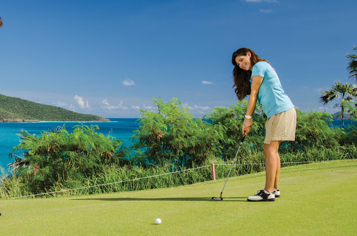 Enjoy a round of golf under sunny skies right along the scenic coastline of St. Thomas.