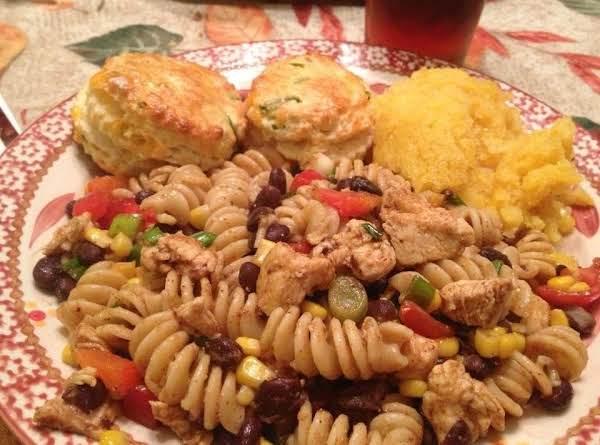 Southwest Chicken & Pasta Salad Recipe