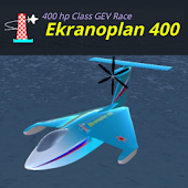 Ekranoplan 400 3D Sea Plane Flight Simulator 2017