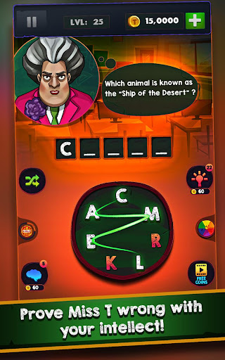 Scary Teacher : Addictive Word Game 2.1 screenshots 8
