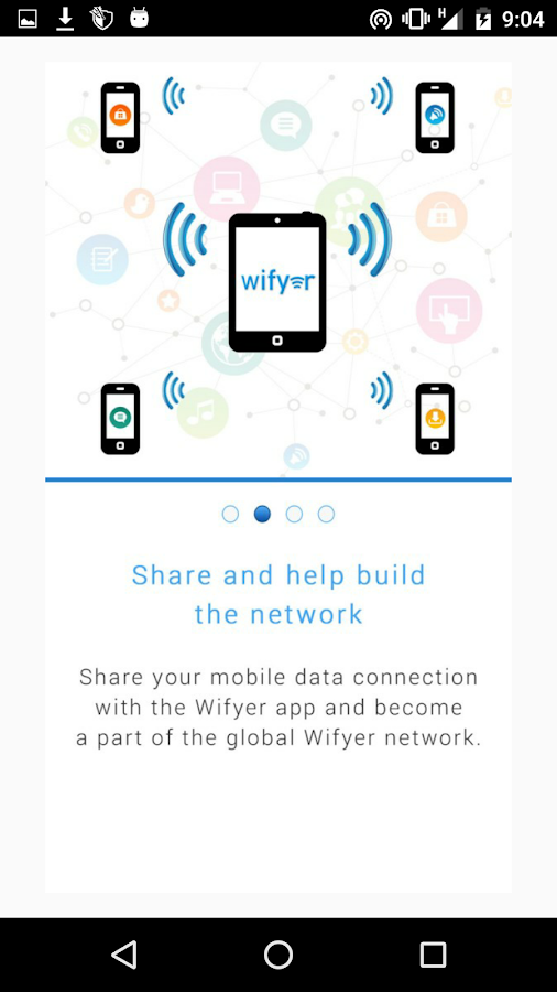 Wifyer- screenshot