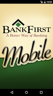 BankFirst Mobile- screenshot thumbnail