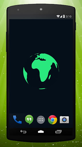 Earth Rocket Live Wallpaper