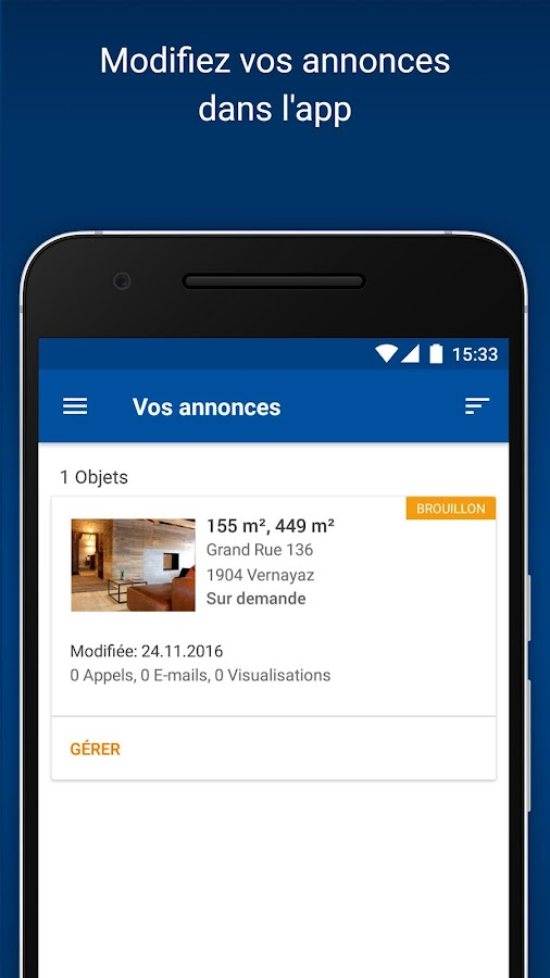 Immoscout24 suisse applications android sur google play for Immoscout24 ch immobilier