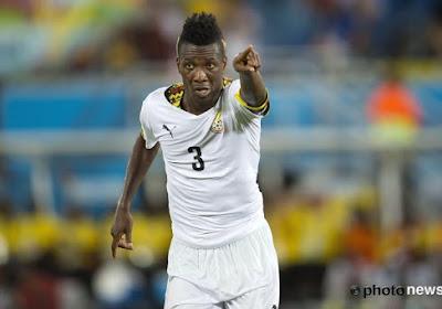 Asamoah Gyan is warempel zo goed als blut