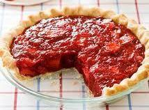 Mom's Icebox Strawberry Pie Recipe