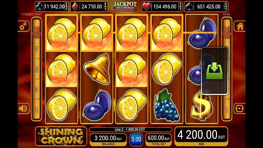 Shining Crown Slot 4
