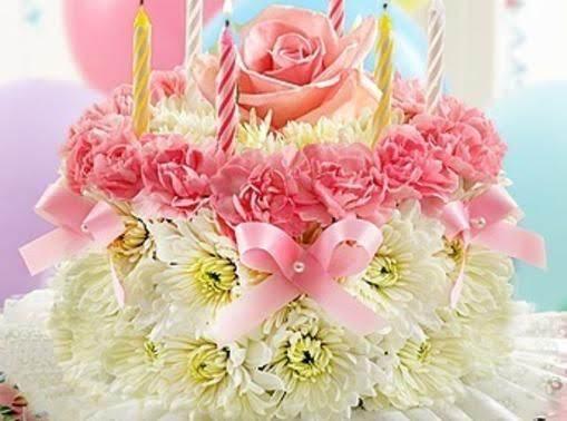 Diy Birthday Flower Cake Just A Pinch Recipes