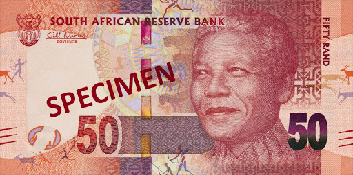 SOUGHT AFTER: Experts say the new banknotes with the image of former president Nelson Mandela may start a collecting trend