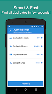 Cleaner - Merge Duplicate Contacts Screenshot
