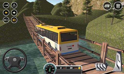 Uphill offroad bus driving sim 1.0.8 screenshots 2