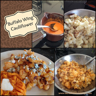 Roasted Buffalo Wing Cauliflower